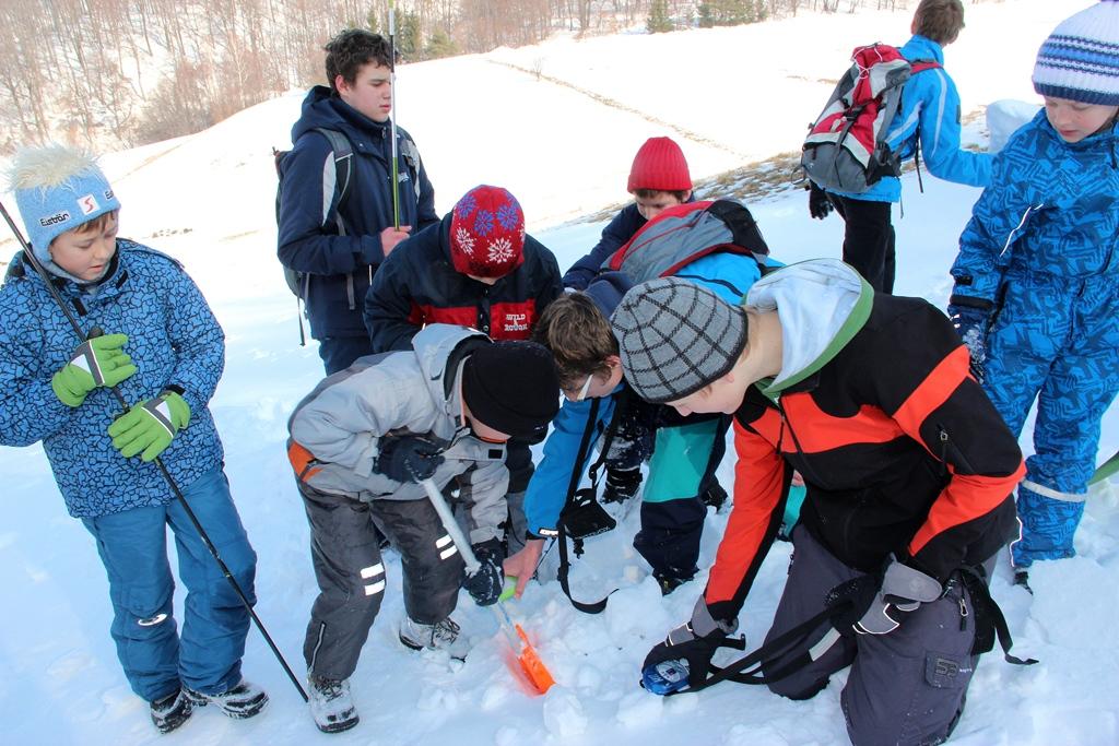 Mladi gorski reševalci v akciji