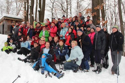 75 planincev se je povzpelo do klopc na Gradišču.