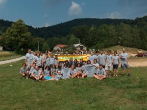 Udeleženci tabora na Lokvah pred 11 leti