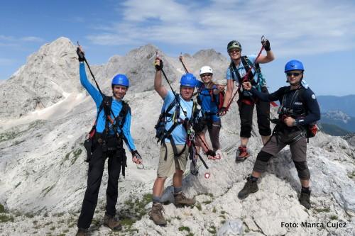Slivniška modra peterica na Turski gori